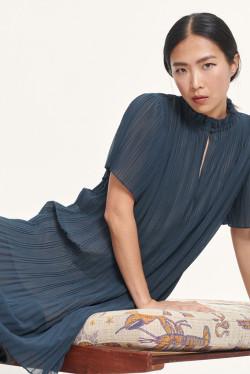 Lady ss dress Blue