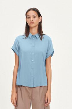Majan shirt Dusty Blue