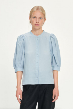 Mejse shirt, Dusty Blue