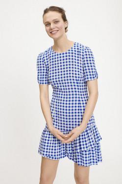 Monza short dress  blue