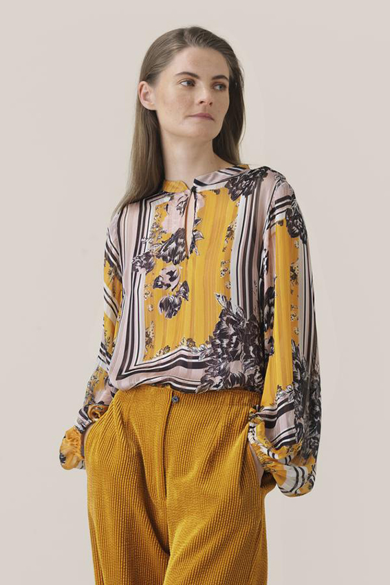 Valley LS Blouse