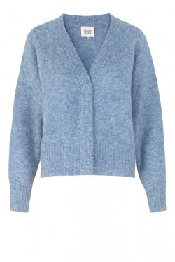 Brook Boxy  Cardigan Blue
