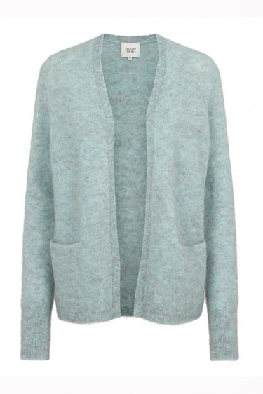 Brook cardigan Aqua