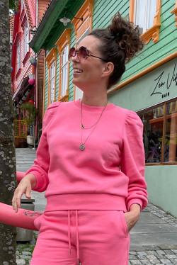 Carmella Sweat Hot Pink