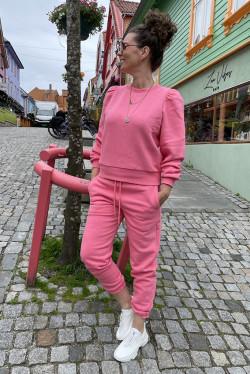 Carmella Sweat Pants Hot Pink