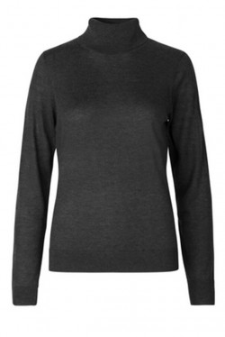 Felina Knit T-Neck Black