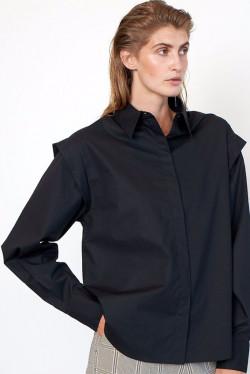 Larkin Wide Shoulder Shirt