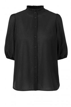 Tara SS Shirt Black