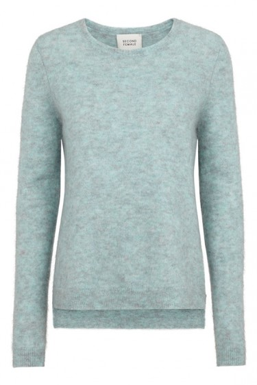Brook knit Aqua