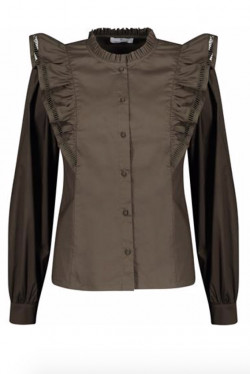Lana Blouse Forest Night